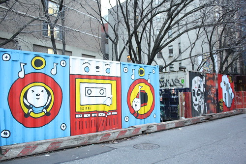 ArtUp Murals on East Fourth at Bowery