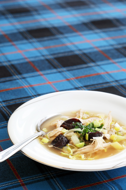 Cock-a-leekie soup / Kana-porrusupp