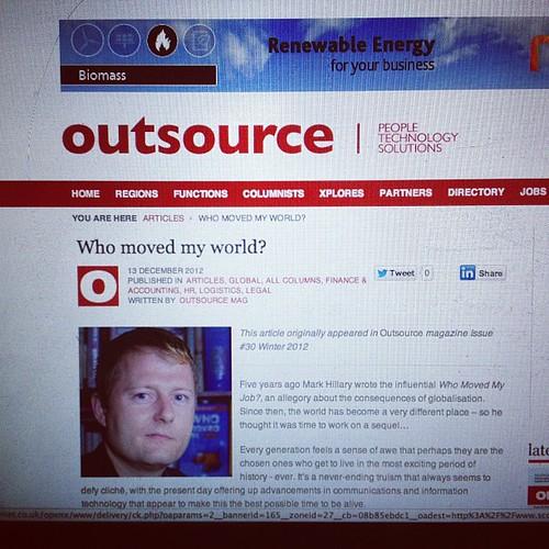 New book www.whomovedmyworld.com #book #livro #markhillary #outsource by markhillary