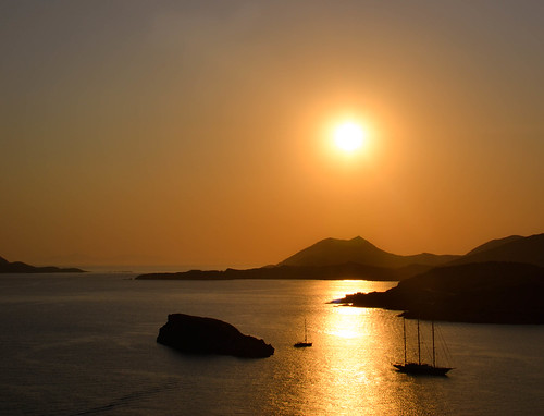 Golden Hour at Sounio