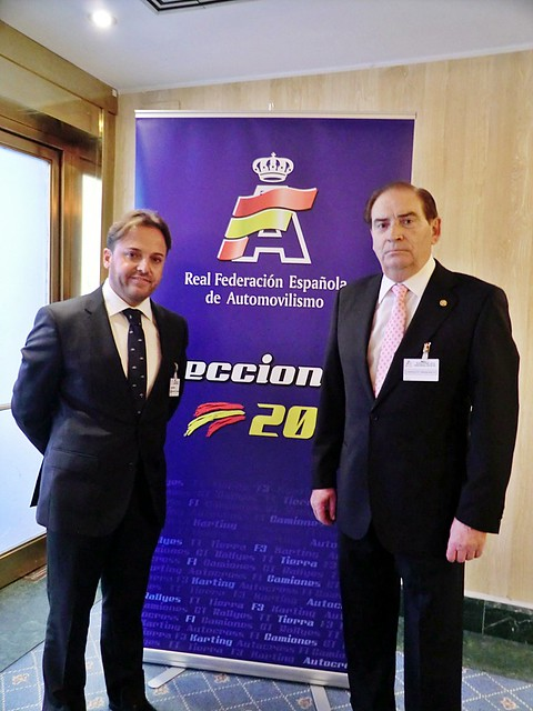 Aviño y Gracia en las pasadas elecciones a la RFEdA