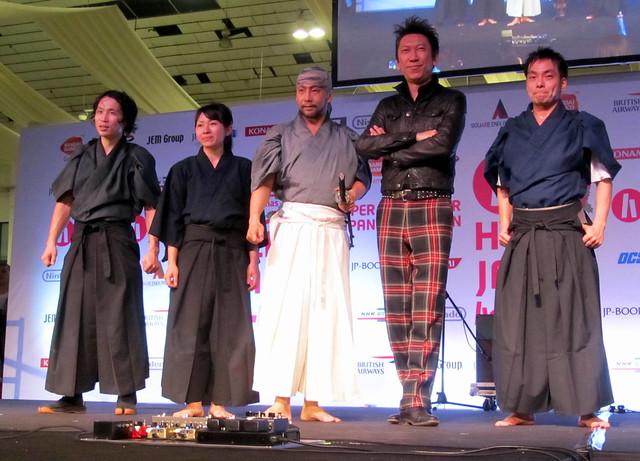 Tomoyasu Hotei with KAMUI