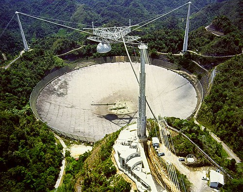Arecibo Observatory Aerial View