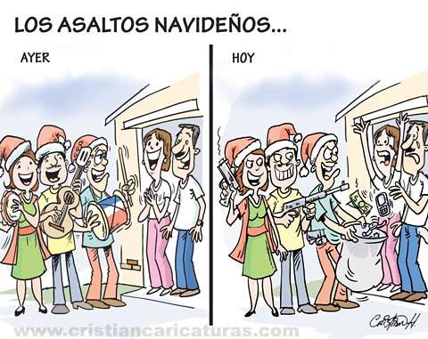 Los asaltos navideños