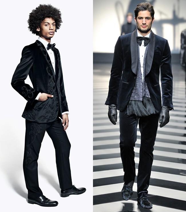 5 suits black