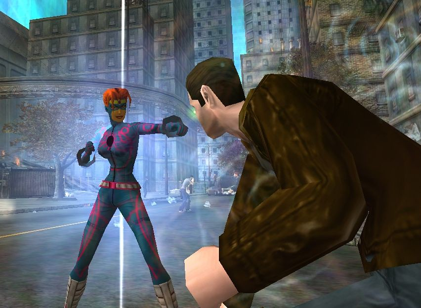 city of heroes nova force