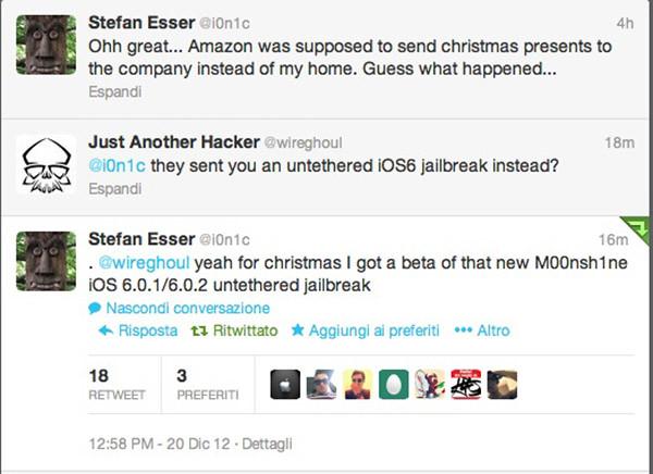 M00nsh1ne jailbreak untethered para iOS 6
