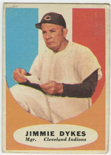 1961 Topps Jimmy Dykes