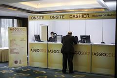 櫃台 @ IASGO 2012