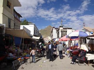 Mercado de Shigatse