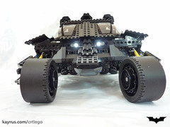 The Tumbler: Technic Driving in Gotham