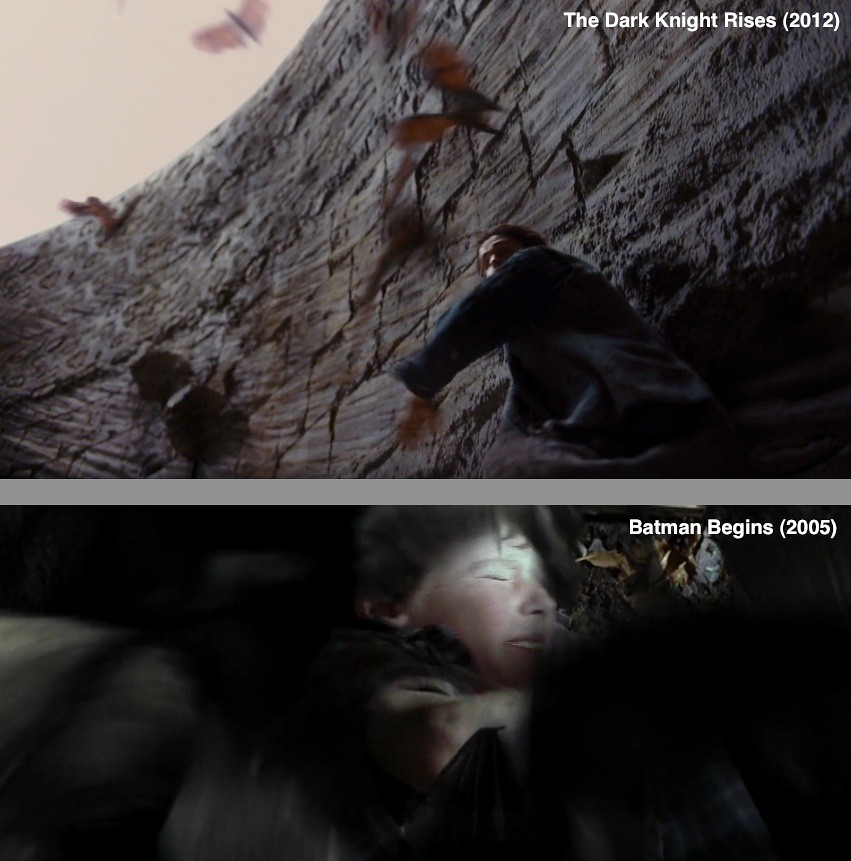The Dark Knight Trilogy - Similitudes ¿Lo sabias?