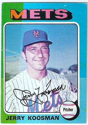 1975 Topps Mini Jerry Koosman