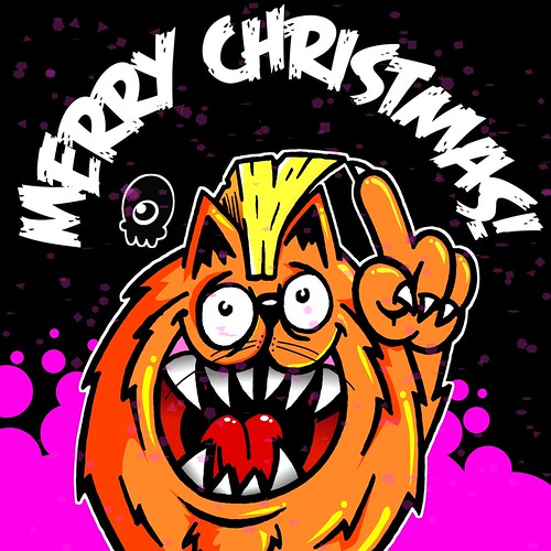Merry Christmas everyone! by SFCEE...Creature Ink.