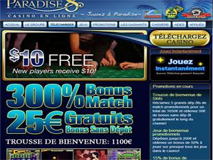 Paradise 8 Casino Home
