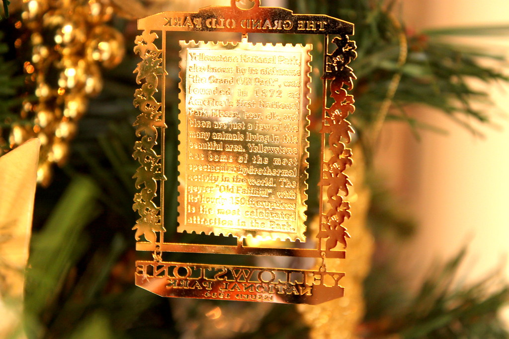 Yellowstone Christmas Ornament