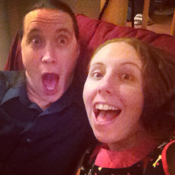 Christmas #ExcitedFace with Cousin Ben!