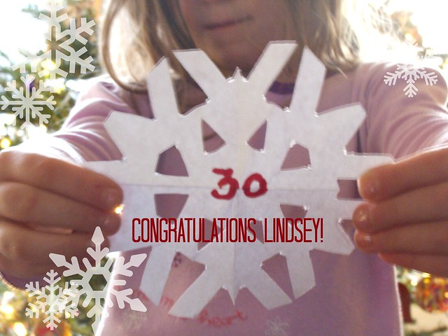 Winner Snowflake Garland