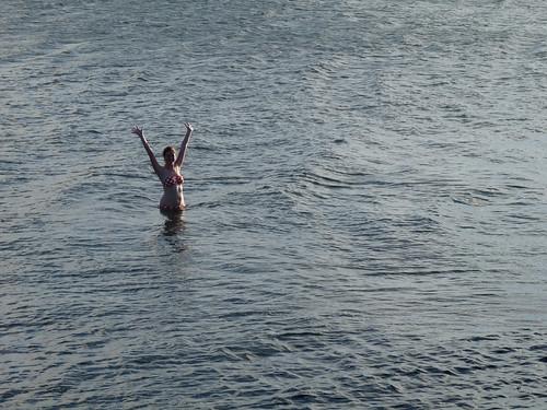 christmas day sea swim
