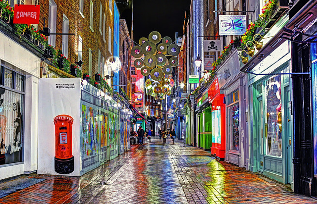 Carnaby Street Xmas Lights