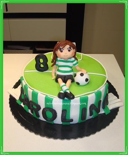Bolo Sporting Carolina by Osbolosdasmanas