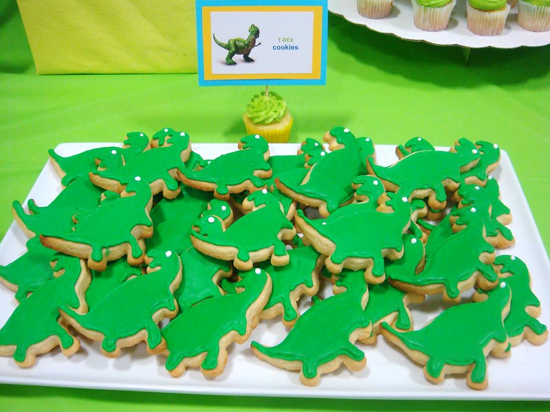 Toy Story Dessert Rex Cookies