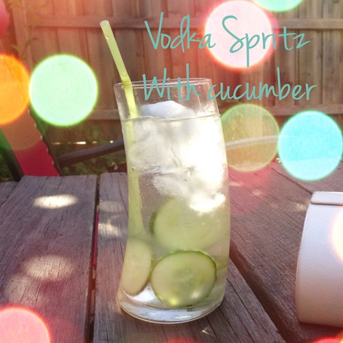 Vodka spritz
