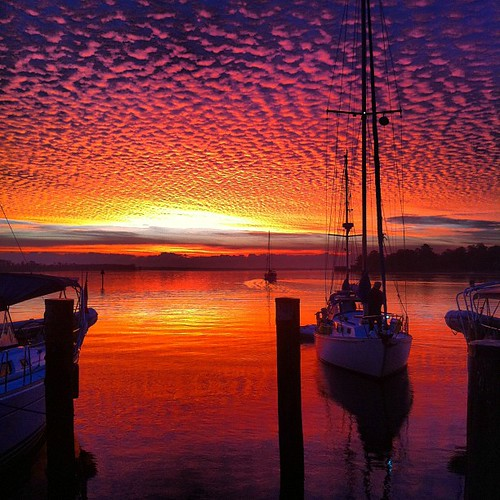 sailboat sunrise square northcarolina squareformat pasquotank iphoneography epicsunrise instagramapp uploaded:by=instagram joshuaewing foursquare:venue=4c1812f76a21c9b63a86c897