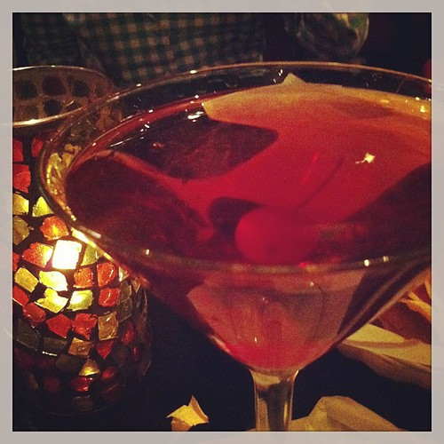 Red velvet cake martini's for everyone! #yesitsthatgood