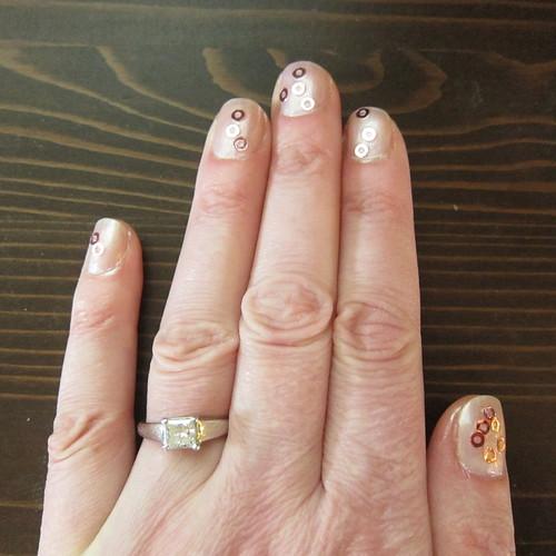 Iron Craft Challenge #26 - Pink Champagne Nails