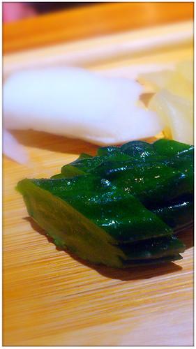 茗荷_黃味噌閹黃瓜
