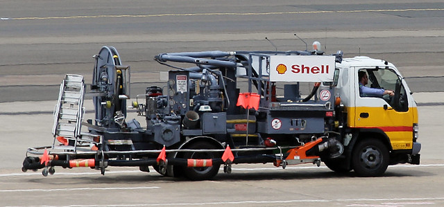 Shell Aviation Fuel Truck