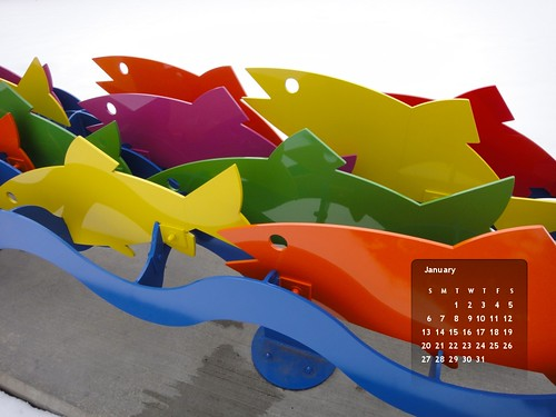 January 2013 Wallpaper