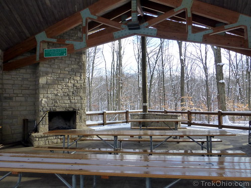 Fireplace in Picnic Shelter
