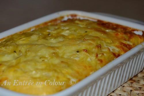 Egg & Noodle Pie