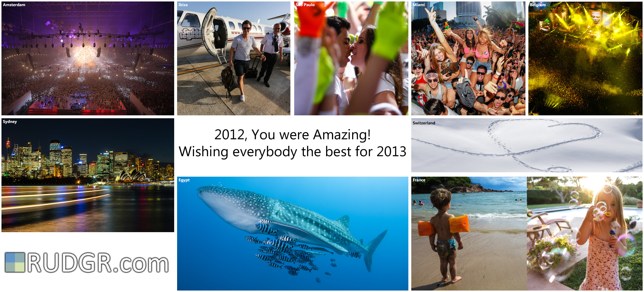 2012 You Were Amazing!