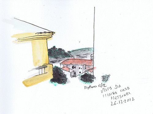 2012.12 vista de casa, Messines