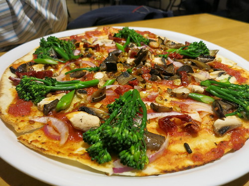 Las Vegas – Two different vegan pizza experiences. CPK vs A Slice of ...