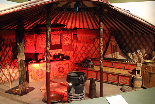 Half of a Mongolian Yurt