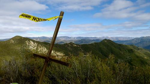 White Ledge Peak summit