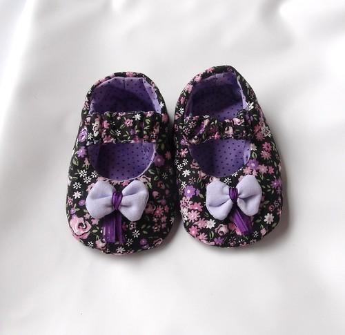 Sapatinho Lacinho by Cute for Baby by Mirian Rezende