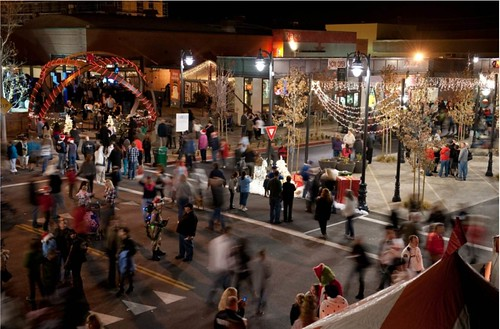 THE BLVD, Lancaster, CA, at holiday season (courtesy of THE BLVD)