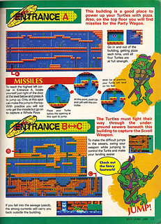 "NINTENDO POWER ::  MAY/JUNE 1989 // Vx p.13 "" TEENAGE MUTANT NINJA TURTLES "" { original review }"