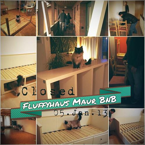05.01.13 The furniture purge has begun. Good Saturday morning!
