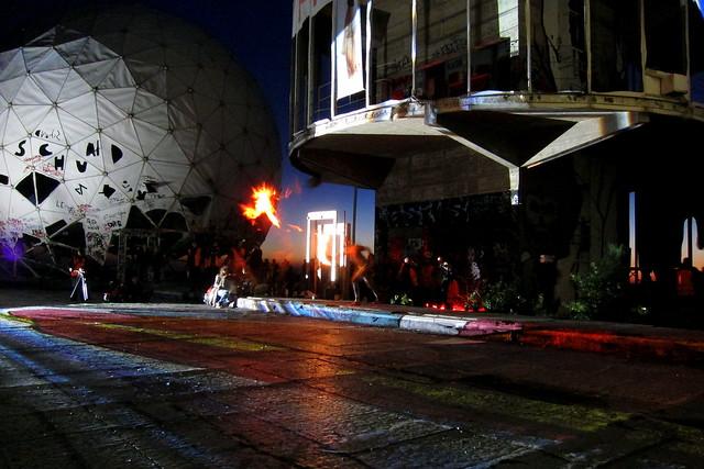 fire-eater | teufelsberg . berlin