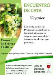 CEBA: Encuentros de Cata de Verano Viognier