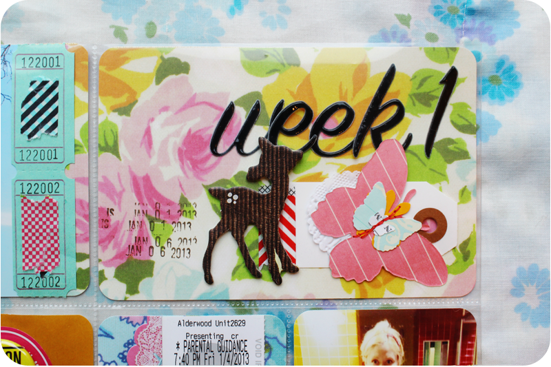 {project life week 1} dates