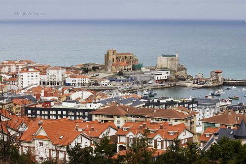 Vista de Castro Urdiales