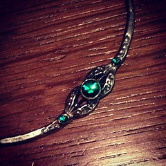 Ali bought me the most beautiful necklace today :)