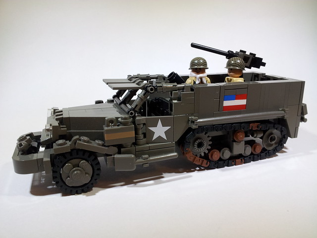 M21 81mm Mortar Motor Carriage
